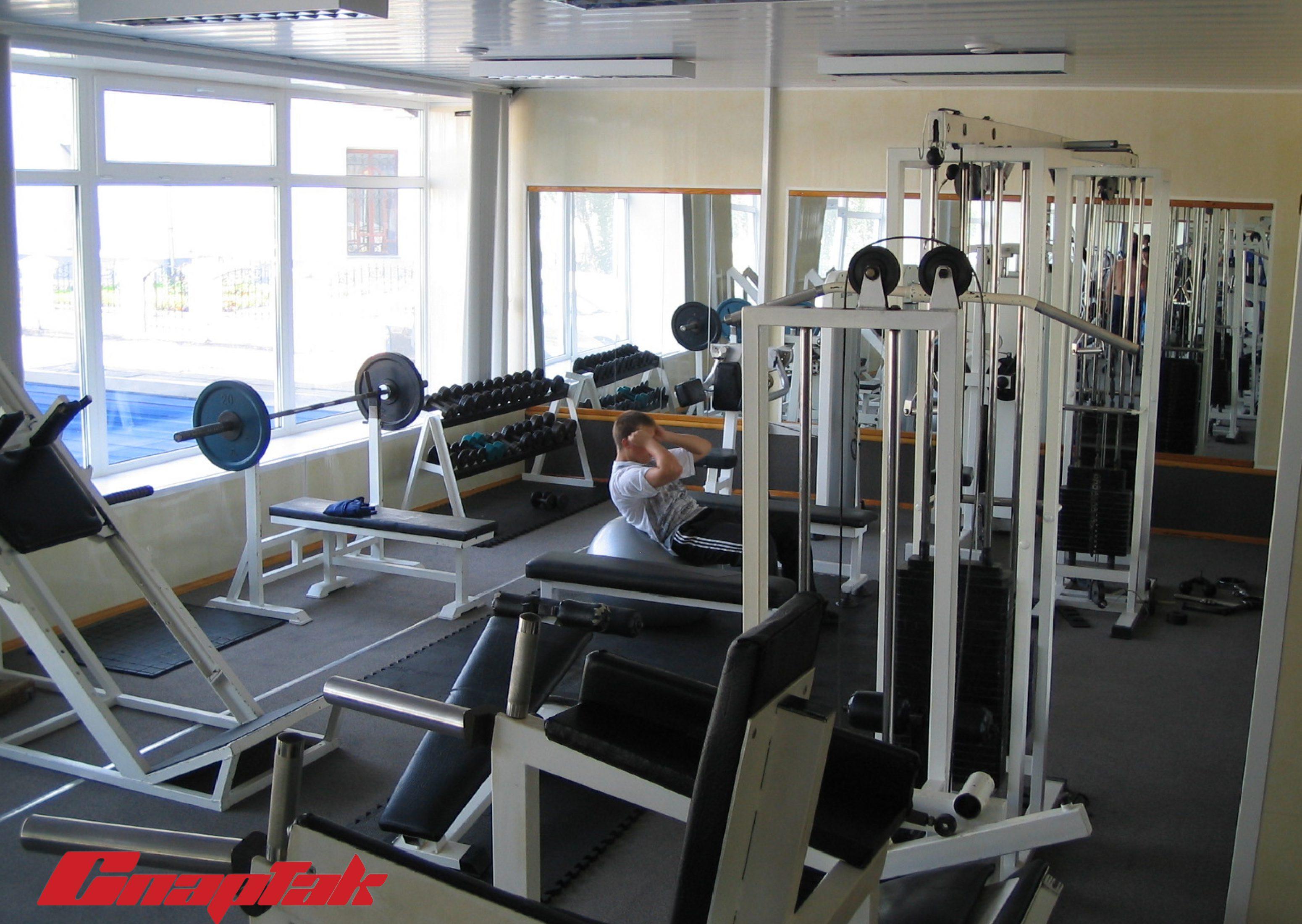 спартак тренажерный зал 5 3100x2200 Тренажерный зал Спартак