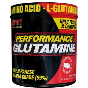 SAN Glutamine performance