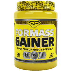 steel power For Mass Gainer 1500