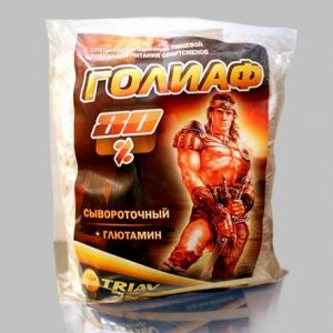 Triav Nutrition Голиаф сывороточный 80% глютамин