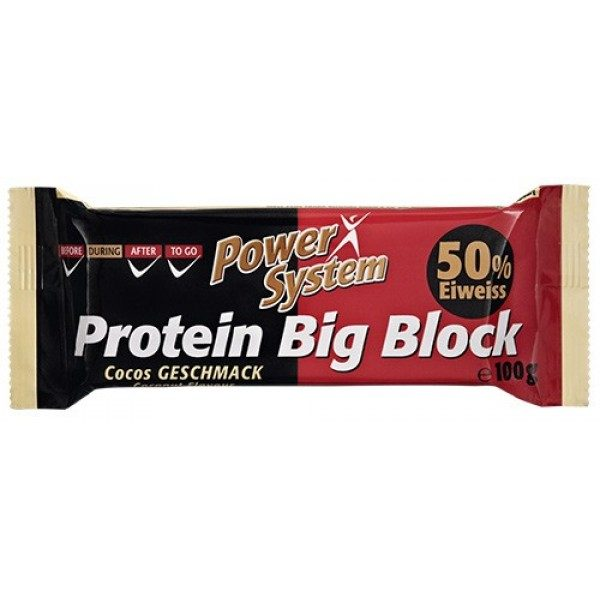 Power System Protein Big Block
