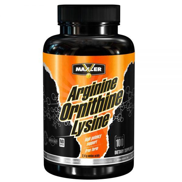 Maxler Arginine Ornitine Lysine