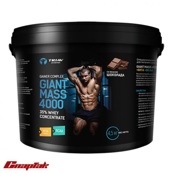 giant mass 4000 vita bcaa 4500g