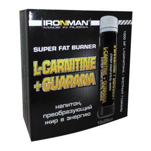 Ironman L-Carnitine Guarana